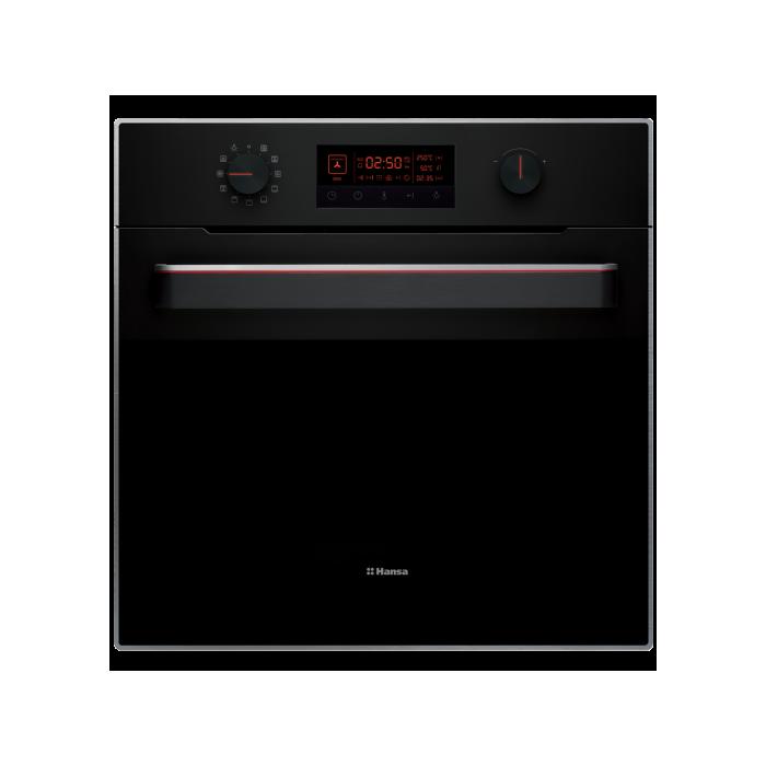 встраиваемый духовой шкаф Hansa Uniq Boes695010а цвет черный в