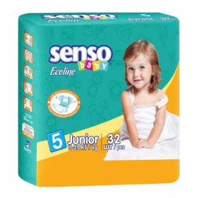 8c9aecf85aa6 Детские подгузники junior 11-25кг 32шт Ecoline Senso Baby Ош